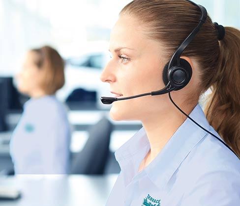 Call center, recepcionistas, teleoperadores