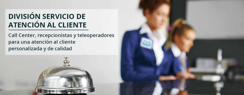 Call center - Servicios de atención al cliente