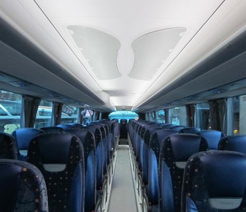 acompañantes de autobus